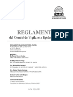 Reglamento Comite de Vigilancia Epidemiologica