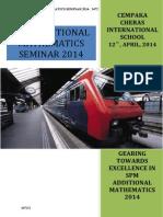 Add Maths Seminar 2014 Handout