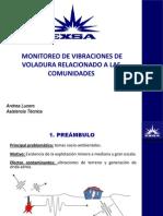 09 Monitoreo de Vibraciones de Voladura Relacionado a Las Comunidades