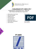 Laporan Kunjungan IPLT SIER
