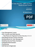 Oracle R12 Function and Data Security - UMX and Role Based Access Control