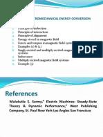 Principles of Electromechanical Energy Conversion