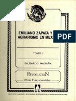 Emiliano Zapata y el agrarismo en México, t1.pdf