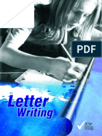 7590 Letter Writing Book