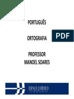 Portugues Tribunais Slides01 Questoes Manoel Soares