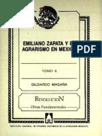 Emiliano Zapata y el agrarismo en México, t2.pdf