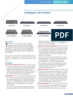 H3C S5120-SI Series Switches Datasheet