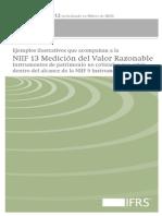Ejemplos Valor Razonable IFRS13