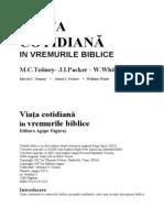 Merril C. Tenney, James I. Packer, William White - Viata Cotidiana in Vremurile Biblice