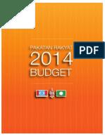 Pakatan Rakyat Budget 2014-EnG
