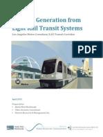 EMI RFI Generation From LRT Systems