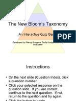 Bloom Quiz