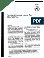 LNG Density