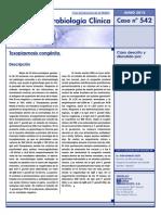 Caso 542 Toxoplasma Congenita