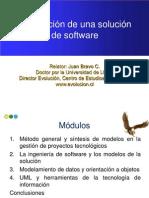 Modelacion de Una Solucion de Software Curso