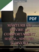 Marturii Cu Privire La Comportament Sexual,Adulter Si Divort