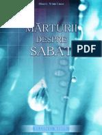 Marturii Despre Sabat