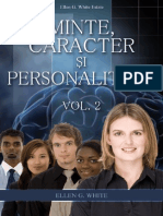 Minte Caracter Si Personalitate Vol.2