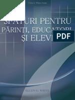 Sfaturi Pentru Parinti,Educatori Si Elevi