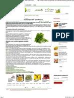 5 Alimente Care Cheleaza Metalele Grele Din Corp - Viata in Verde Viu