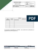 Procedimiento - Control de Costos