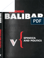 Etienne Balibar Spinoza and Politics 2