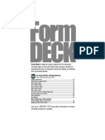 Floor, Form, Roof Steel Deck Manual, Vol 03 Form Deck - 1997 United Steel Deck