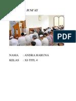 Free Download KHUTBAH  JUMAT docx
