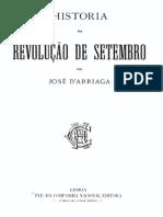 Historia da revolução de Setembro, por José de Arriaga, vol. 1