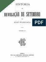 Historia da revolução de Setembro, por José de Arriaga, vol. 2