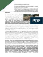 El Medio Ambiente en América Latina