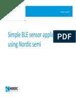 Shenzhen Noridc_BLE Sensor App