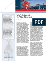 Turkey's Elections and the Politics of Uncertainty