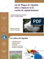 MIP Del Algodon Organico (CIP 2008)