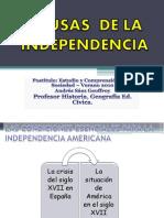2D Independencia Causas