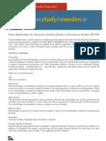 study in sweeden