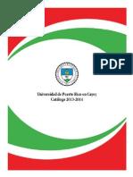 Catalogo 2013-14 - UPR Cayey