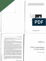 Leo Pero No Comprendo _ Liliana Cubo de Severino