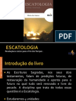 Escatologia - Unidade I