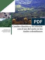 Cambio Climatico Uso Suelo Andes Colombianos