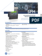 spm synchronous motor protection
