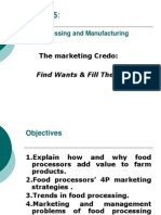 Chapter 5, Food Processing & Manufacturing