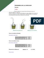 Termodinamica de La Corrosion