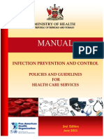 Infection Prevention and Control Policies and Guidelines for Health Care Services
