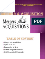Merger Acquisition