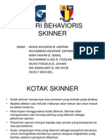 Teori Behavioris Skinner
