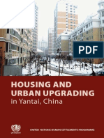 Housing and Urban Upgrading in China