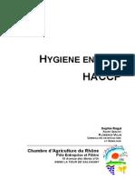 Hygiene en Cave Haccp