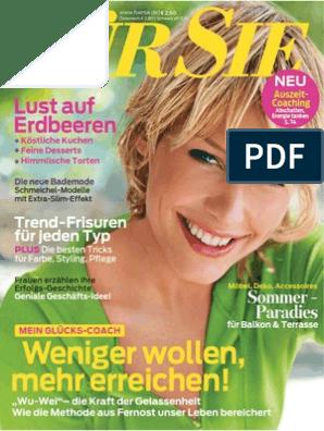 Für Sie Frauenmagazin 10 2014 (14.04.2014)