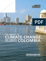 Impact of Climate Change on Urban Settlements in Colombia
